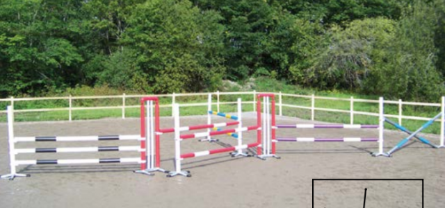 Safety System Showjumps